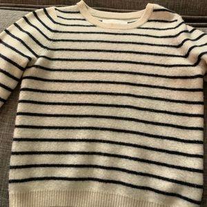 Boys cashmere cotton blend sweater